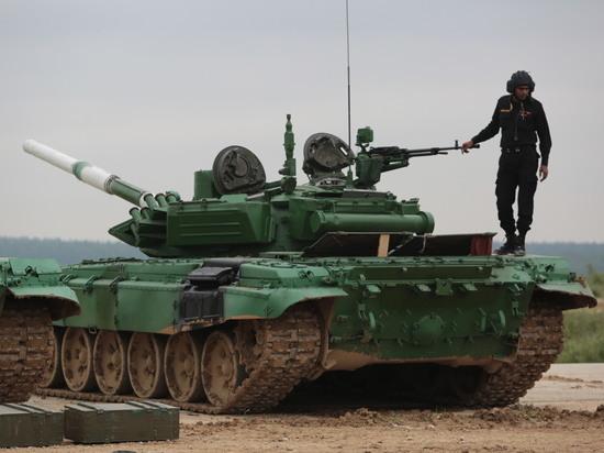 Азербайджанские танкисты— лучшие вгруппе наконкурсе «Танковый биатлон»