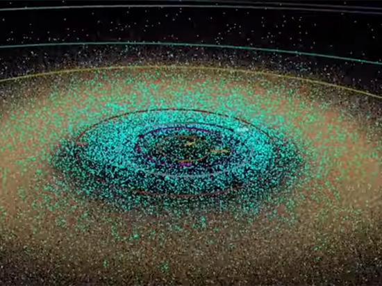 NASA показало все астероиды Солнечной системы: видеоролик завораживает и пугает
