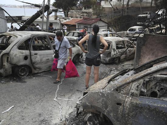 Затронут ли разрушительные пожары в Греции российских туристов