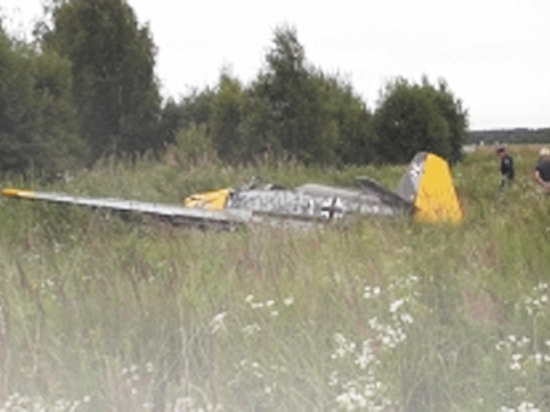 Чемпион не смог вывести самолет из штопора
