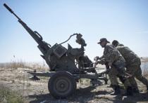 """Вооруженные силы Украины обстреляли позиции запрещенной в РФ группировки """"Правый сектор"""" и нацбатальона """"Азов"""", сообщили в ДНР"""
