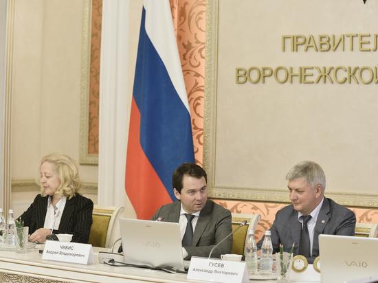 Воронежская область стала пилотным регионом для ряда федеральных проектов