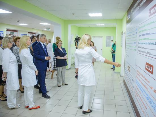 Министр здравоохранения Вероника Скворцова высоко оценила воронежскую медицину