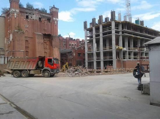 Демонтаж под видом реконструкции