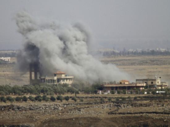 Сбитый израильским ПВО самолёт оказался истребителем Су-22
