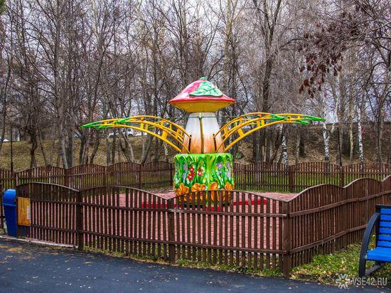 Аттракционы кузбасского парка арестовали задолги