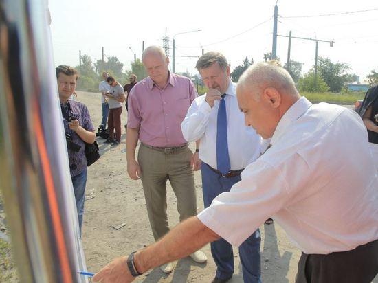 В городе строят новые дороги и ремонтируют частный сектор