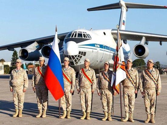Российских военных направили в Иорданию, Ливан и Турцию
