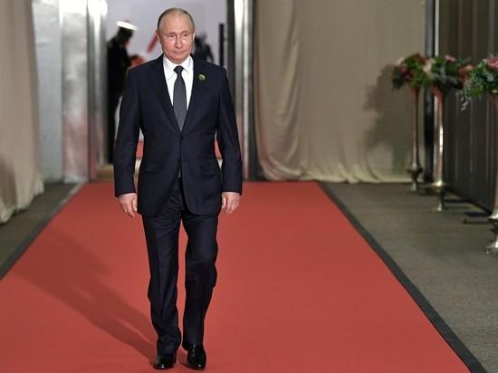 С Путиным случился казус в ЮАР