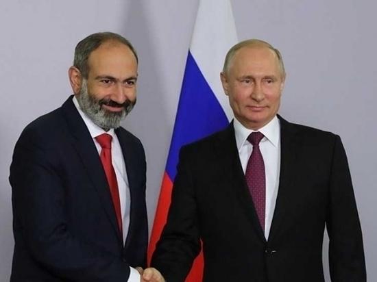 Премьер Армении Пашинян признался, что представлял Путина другим