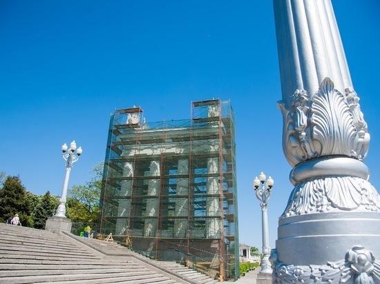 В Волгограде отремонтируют нижнюю террасу Центральной набережной