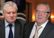 Миронов и Жириновский заявили о новой партии и создании двухпартийной системы