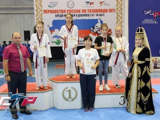 Девочка изКрасноярского края взяла серебро главенства Российской Федерации потхэквондо