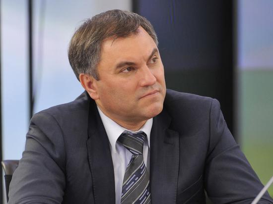 Володин заявил, что вопрос о пенсиях митингами не решить