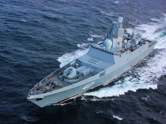 На параде в День ВМФ покажут новые корабли «Адмирал Горшков», «Ураган» и «Иван Грен»