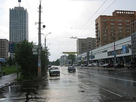 Дождались! В Архангельске дождь