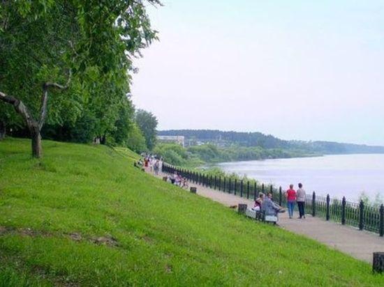 В Нововятске на набережной установят велопарковки, фонтан и видеонаблюдение