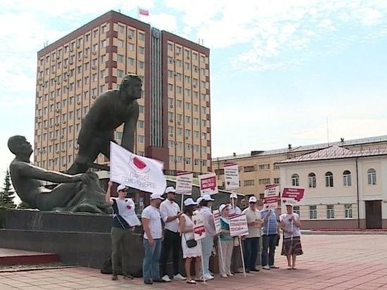 Старческий маразм: в Иванове «пенсионеры» митинговали в поддержку пенсионной реформы