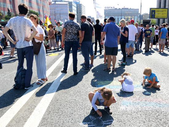 Странный митинг против пенсионной реформы провели либертарианцы на Сахарова
