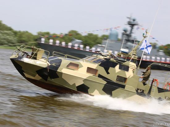 ВАстрахани сразмахом отпраздновали День ВМФ