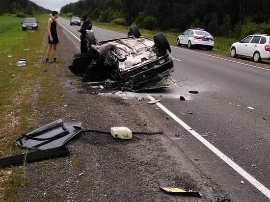 В Татарстане в ДТП с грузовиком погиб один человек, трое пострадали