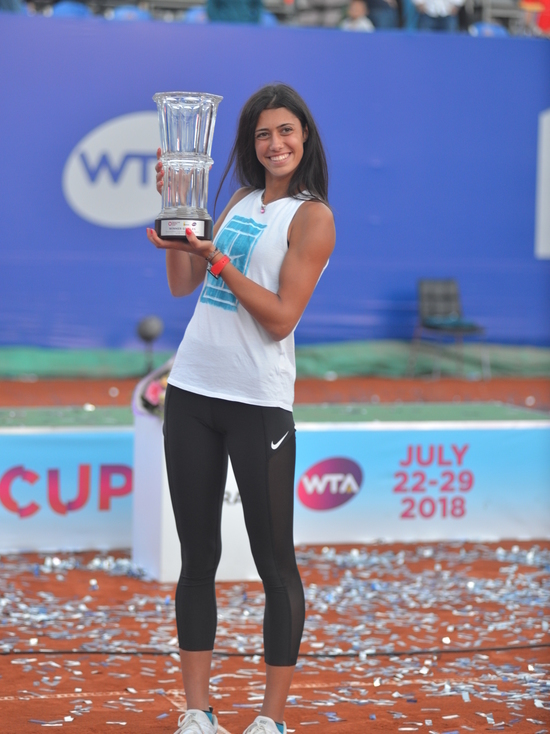 Сербская сказка Данилович: 17-летняя теннисистка победила на Moscow River Cup