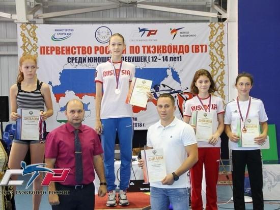 Тамбовская спортсменка стала победительницей первенства России по тхэквондо