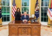 Трамп поделился впечатлениями от встречи с Кардашьян и выложил фото