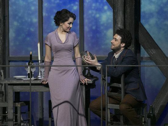 В Большом театре дали премьеру оперы «Богема»