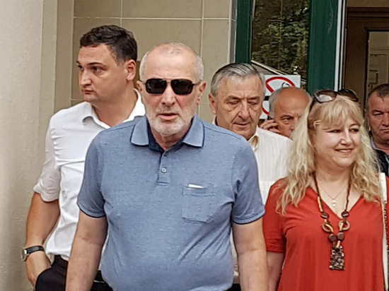 Виталий Калоев, убивший авиадиспетчера, приехал на премьеру фильма о себе
