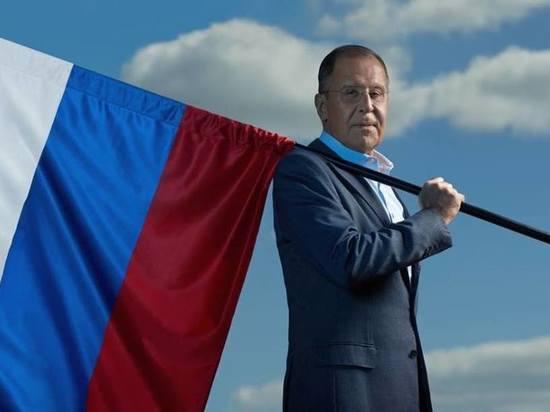 МИД России показал фото целителя Лаврова
