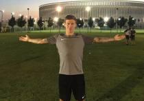 Футболист сборной России Смолов разбил машину за 9 миллионов рублей