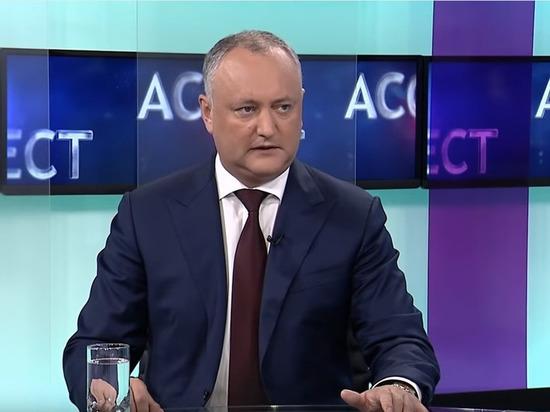 Игорь Додон: «Действующий парламент заслуживает самой позорной оценки за всю свою деятельность»