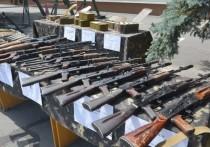 СБУ показала изъятые у товарищей Савченко минометы и автоматы