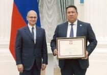 Сенатор Полетаев награжден Почетной грамотой Президента Российской Федерации