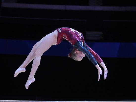 Русские гимнастки завоевали золото чемпионата Европы вкомандных соревнованиях