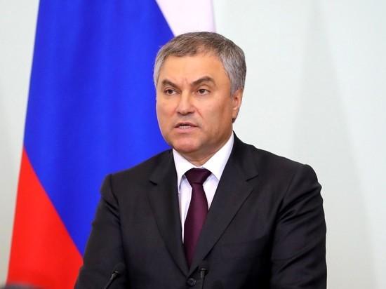 Володин анонсировал большие парламентские слушания по пенсионной реформе