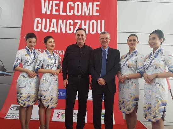 Расширяется география полетов из Израиля в Китай