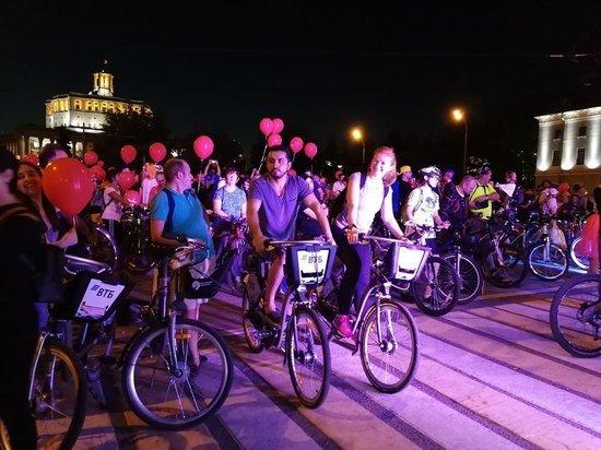 Ночной велопарад становится традицией