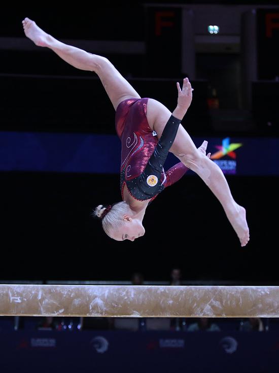 Сборная России по спортивной гимнастике завоевала главную медаль чемпионата