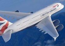 Самолет Лондон-Москва развернулся назад, долетев до Латвии