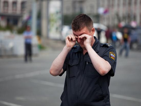 Молдаване избили калужского полицейского