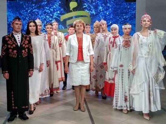 Чувашский костюм высоко оценили дизайнеры со всей России