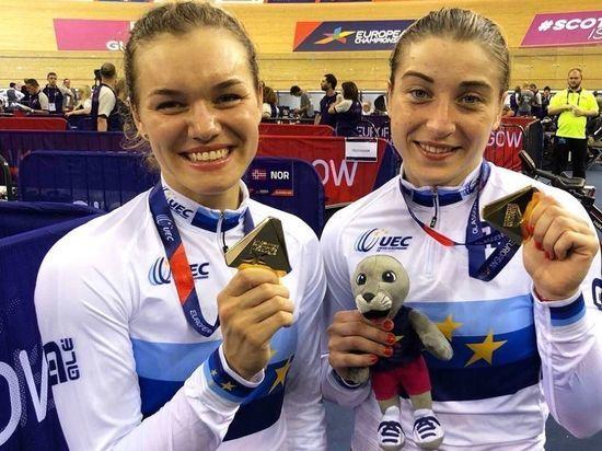 Шмелева выиграла спринт наЧЕ повелогонкам натреке