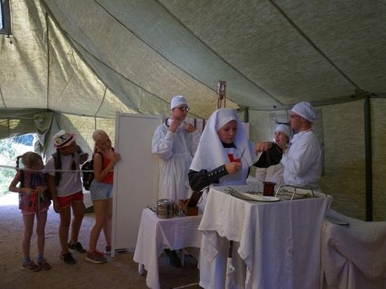 В Пинеге развернули госпиталь времён Гражданской