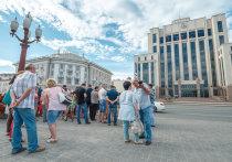 Обманутые дольщики ЖК МЧС штурмовали Дом Правительства Татарстана