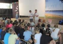 Энергетики Ивэнерго и бойцы студотряда «Прометей-2018» провели занятие по электробезопасности в лагере «Чайка»