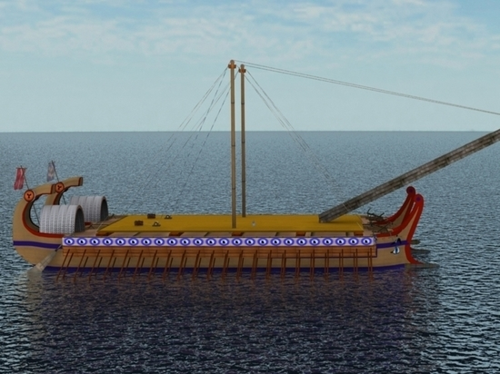 У берегов Крыма нашли уникальный хорошо сохранившийся древнеримский корабль
