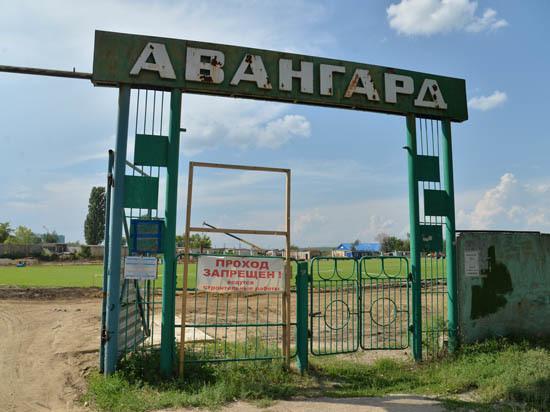 Губернатор раскритиковал темпы работ на стадионе «Авангард»
