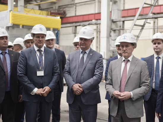 Глава Воронежской области и вице-премьер РФ оценили комплексное развитие Борисоглебска